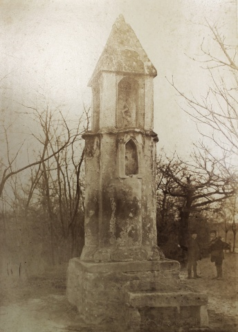 Pihenőkereszt, Stagl Ferenc, felvétele a 19. sz. végéről