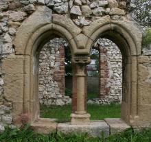 Gyulafirátót, a premontrei kolostor részlete