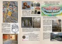 Scarbantia régészeti műemlékei és régészeti kiállításai, a leporelló egyik oldala...